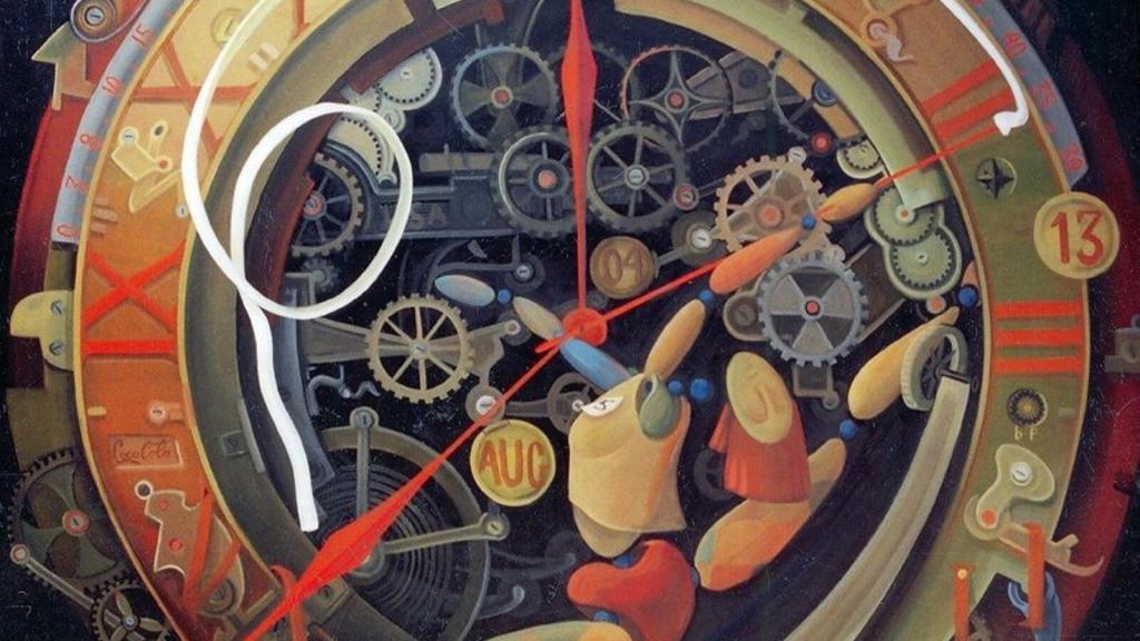 Ὁ Χρόνος ἁπλά μετράει τήν ἁλλαγή