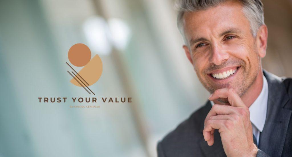Business coach σεμινάριο Trust your value